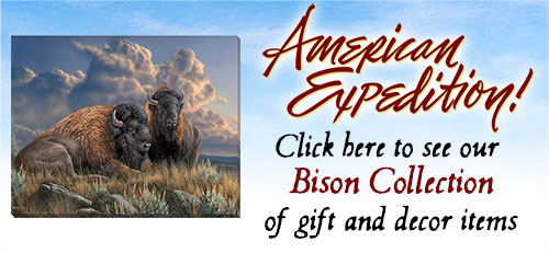 Shop for Bison Gifts.