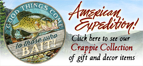 Shop for Crappie Gifts.