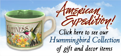 Shop for Hummingbird Gifts.