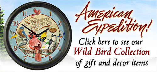 Shop for Wild Bird Gifts.