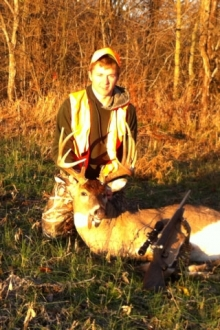 Andrew And His 150 Class Buck