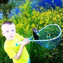 Angler in the Making