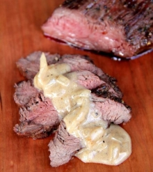 Elk Tenderloin With Whiskey Cream Sauce
