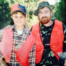 Hunting with Dad in '92