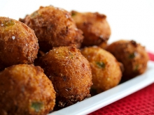 Jalapeno Cheese Hushpuppies