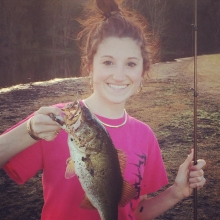 Kendra's First Bass