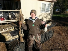 Myles and his Green Wing Teal